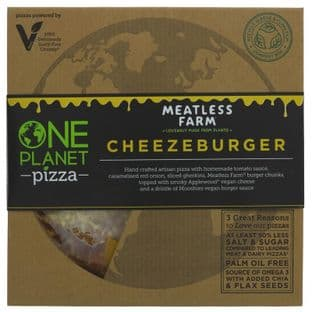 One Planet Pizza Cheezeburger Pizza - 362g